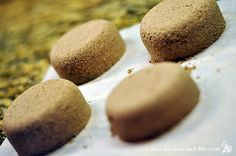 Copycat Lush Fizzy Clay Scrubs . They're an interesting combination of clay (which I love) and bath bombs (even more love). The end result is a highly exfoliating and amusingly fizzy disc of fun … Continue reading →