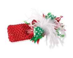 Crochet Ostrich Christmas Headband by Mud Pie