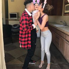 Happy Easter from the ACE Family Cute Family, Baby Family, Family Goals, Beautiful Family, Couple Goals, Family Outfits, Couple Outfits, The Ace Family Youtube, Baby Girl Fashion