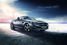 Win! Hire of a Mercedes-Benz SLK Convertible, courtesy of Europcar