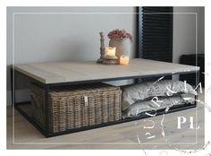 Maatwerk / landelijke salontafel / GRACIEUS / oak | 》Landelijke salontafels | Puur & Landelijk Living