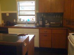 Kitchen phase-1, pretty much done. I'll redo the whole thing soon.