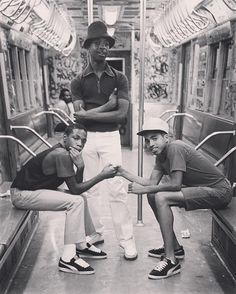 """""""The Brownsville Connection/ B side. Brooklyn, NY, 1980"""" 