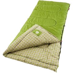 The Coleman Green Valley Sleeping Bag is great for cool-weather camping. It measures wide by long, and fits most people up to The Green Valley Sleeping Bag is durably constructed of a polyester cover with a cozy cotton-flann