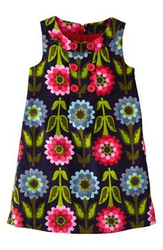 Mini Boden Corduroy Pinafore Dress (Toddler Girls) available at #Nordstrom