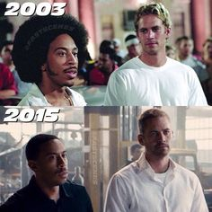 I see no difference. Both are still the same great guys.