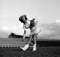 Kilgore College Rangerette (captured here by Life magazine for a 1949 spread) were the inspiration for the Dallas Cowboys Cheerleaders.
