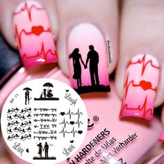 Love Theme Nail Art Stamping Stamp Template Image Plate Cute Birds BORN PRETTY Nail Art Decorations BP71