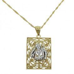 Pendentifs Allah - Pendentif Allah - PE284 pendentif 90bb701edeb