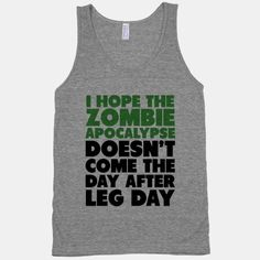 Zombies the Day After Leg Day | HUMAN