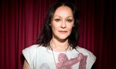 'The worst job I've done? I worked in a frozen chicken factory. I haven't eaten it since' - Frances Barber Miranda Richardson, Frozen Chicken, Barber, Interview, Ruffle Blouse, Actresses, T Shirts For Women, Tops, Fashion