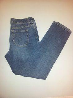 Chico's Platinum Slim Leg Blue Jeans Women's 2 Regularx31   #ChicosPlatinum #SlimSkinny SOLD