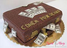 Картинки по запросу торты чемодан с деньгами