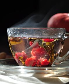 "Hot Raspberry Tea | goodfoodclinic - best food prague | Prague... Just thought it looked better here but it is very hard to ""move"" pin on a board...."