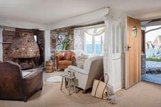 The Brandy Thief | Coastal Cottage | Lee, Ilfracombe Roll Top Bath, Exposed Wood, Coastal Cottage, Honeymoon Destinations, One Bedroom, The Ordinary, House Tours, Relax, Luxury Cottages