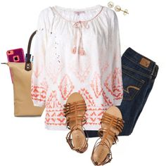 """""""Back to school outfit idea #17"""" by kaley-ii on Polyvore"""