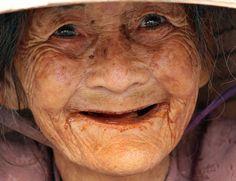 smiles in her eyes