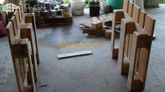 Pallet Workbench Pallet Desks & Pallet Tables