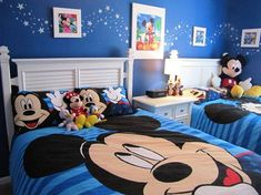 Dormitorios Infantiles De Mickey Mouse Toddler Rooms Kids Bedroom Designs Themes