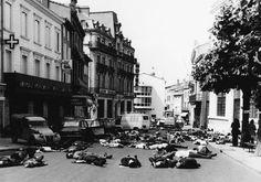 Michael TAURIAC :: Mazamet ville morte, 1973 [16770 people died on road accidents in 1972 in France. In 1973 the town of Mazamet has 16610 inhabitants.]