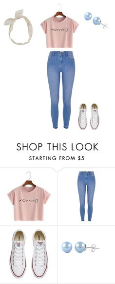 """Morning"" by okcaitlyn on Polyvore featuring River Island, Converse and Carole"