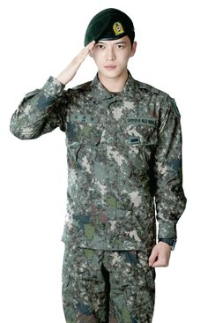 [PICS] 160608 Kim Jaejoong's photo featured in ROK Army Magazine (June Issue)