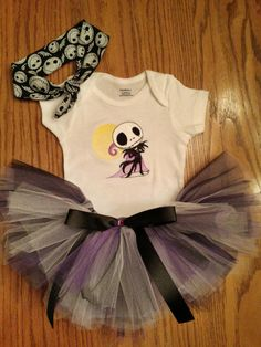 Hey, I found this really awesome Etsy listing at https://www.etsy.com/listing/238294723/jack-skellington-baby-tutu-onesie
