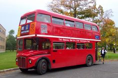 Ride on a double decker bus!