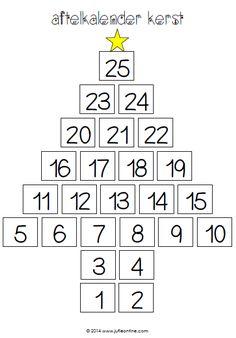 Aftelkalender: kerst
