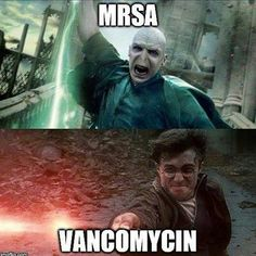 One for the Harry Potter fans ⚡️❤️ #pharmacy #pharmacymemes #meme #harrypotter #pharmlife #pharmacist #work #mrsa #vancomycin