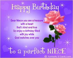 Best Niece Birthday Images In  Birthday Wishes Happy Birthday Memes Niece Birthday