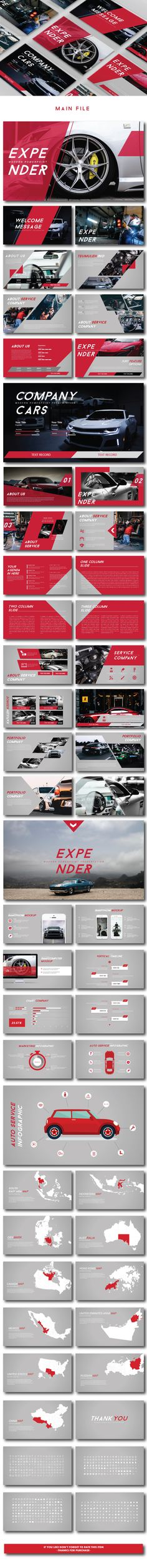 #Expender Modern PPTX - Creative #PowerPoint Templates