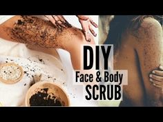 DIY Cellulite Scrub Recipe | how to get rid of cellulite By All For You - YouTube