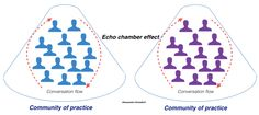 Echo chamber effect in Community of Practice