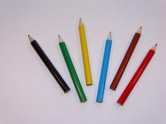 Zakje met 6 kleurpotloden