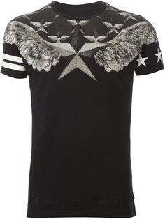 Philipp Plein Camiseta Estampada - Verso - Farfetch.com