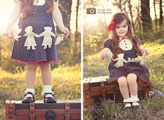 A garland of paper dolls  Simple Gifts Photography  Be Inspired: Newspaper » Confessions of a Prop Junkie
