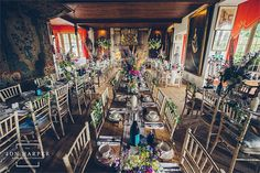 quirky alice in wonderland wedding