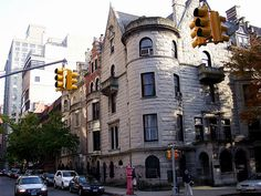 Upper West Side townhouses on Riverside Drive, Manhattan.  Rent-Direct.com - No Fee Rental Apartments in NY.