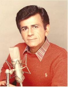 """Casey Kasem, the voice and creator of the American Top 40 Countdown died June 15th. Starting with the radio club in High School, he honed his skills on Armed Forces Network and was even the voice of Shaggy in Scooby-Doo. He made you want to listen, not just to the music but the story behind it and that is radio at its' finest. Thank you Casey for making radio so awesome! """"Keep your feet on the ground, and keep reaching for the stars"""" R.I.P."""