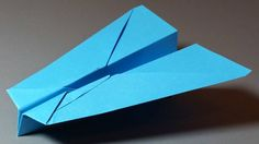 How to make a Paper Airplane - Paper Planes - Best Paper Airplanes in th...