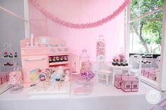 Hailey's Dainty Little Bakeshop Themed Party – Sweet Treats Spread