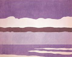 Roy Lichtenstein Landscape series