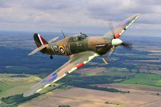 Hawker Hurricane -- I have seen this plane flying, (just yesterday!! just wonderful! I didn't recognize the plane type before reading the news today.)