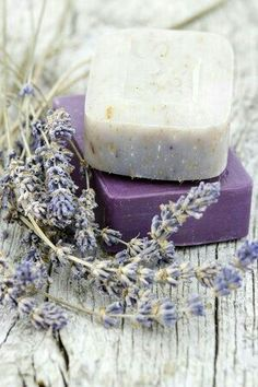 Making your own Homemade lavender soap is not only fun, but a great way to improve your soap making skills. Make 12 Lavender Scented bars in just one hour. Lavender Cottage, Lavender Soap, French Lavender, Lavender Blue, Lavender Fields, Lavender Flowers, Color Lila, Homemade Soap Recipes, Malva