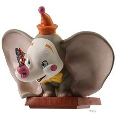 WDCC Disney Classics Dumbo Clown Face With Timothy # #Art Dumbo (Clown Face) with Timothy: