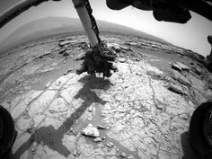 NASA - Curiosity's Drill in Place for Load Testing Before Drilling