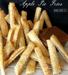 Apple Pie Fries by Oh, Bite It.