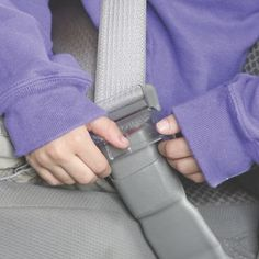 Angel Guard Seat Buckle Safety Guard 2-Pack: Why didn't someone think of this sooner? This mom-invented seat belt lock keeps little escape artists from undoing their seat belt buckles in the car. It fits over the release button, blocking little fingers, but allows you to fasten the buckle as usual. Easy for adults to release (pull up on the guard from either side), but kids can't manage it...