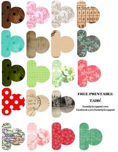 Sweetly Scrapped: {Free♥} Printable Mini Album